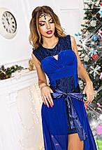 Платье со съёмным шлейфом, фото 3
