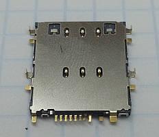 Коннектор SIM-карты для планшетов Samsung P5200, P5210, T110, T310, T311, T330, T530, T531
