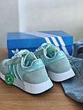 Кросівки Adidas marathon tech blue / Адідас Маратон, фото 7