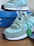 Кросівки Adidas marathon tech blue / Адідас Маратон, фото 3
