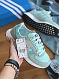 Кросівки Adidas marathon tech blue / Адідас Маратон, фото 4