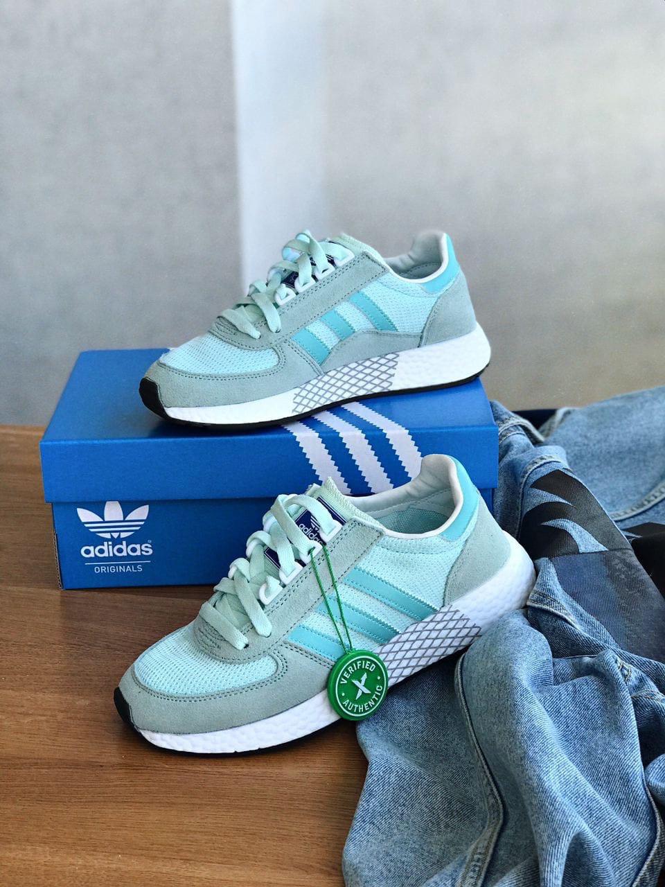 Кроссовки Adidas marathon tech blue / Адидас Маратон
