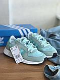 Кросівки Adidas marathon tech blue / Адідас Маратон, фото 5