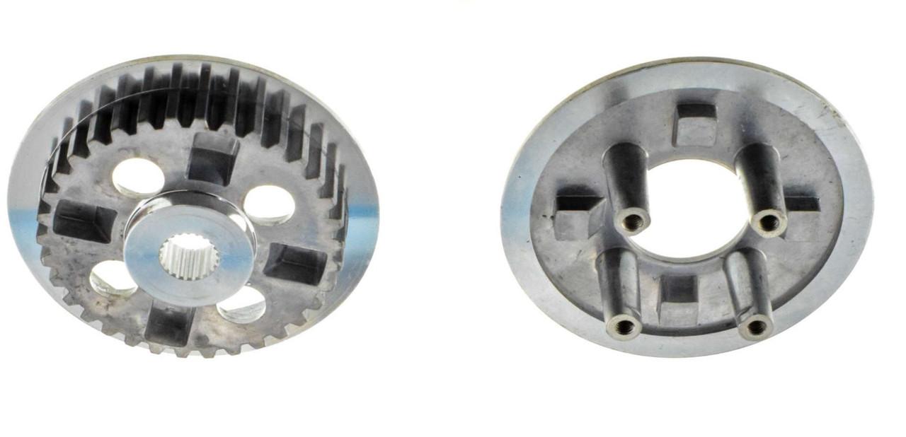 Ремкомплект сцепления на мотоцикл 4T KTT125 диски ведомые