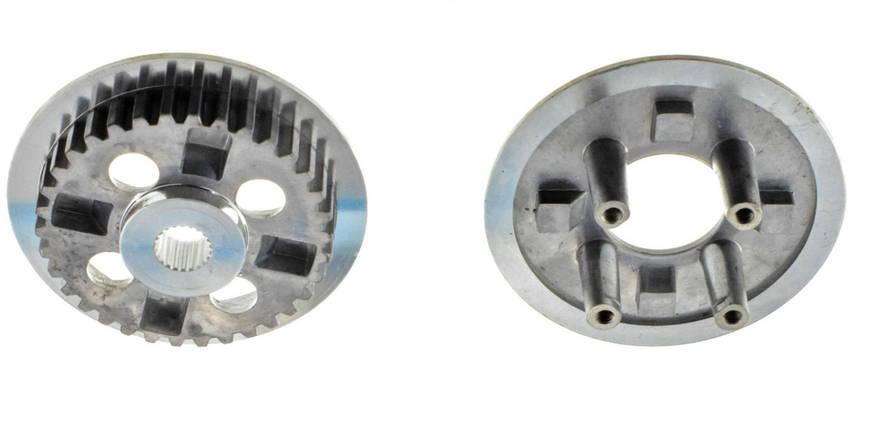 Ремкомплект сцепления на мотоцикл 4T KTT125 диски ведомые, фото 2