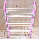 Стійка підставка для взуття Stackable Shoe Rack, 4 полки, 12 пар органайзер взуттєвої стелаж етажерка, фото 3
