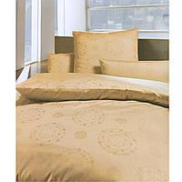 Комплект постельного белья полуторный Bauer 155x200 см Абрикос (33493250)