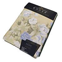 Комплект постельного белья полуторный Bauer 155x200 см цветы (61551703)