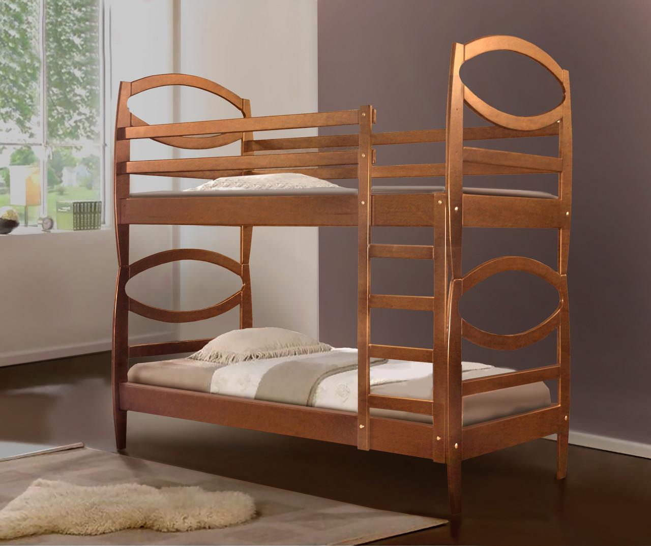 Двухъярусная кровать Виктория ольха (Микс-Мебель ТМ)