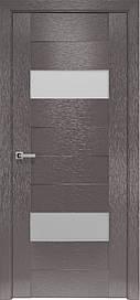 Двері міжкімнатні Женева скло Сатин, Х-Мокко, 700