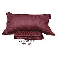 Комплект постельного белья двойной Bellora Platino 270x290 см Бордовый (336790030)