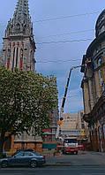 Аренда строительной автовышки в Киеве
