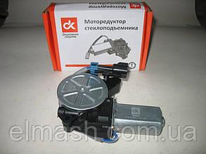 Моторедуктор склопідіймача ВАЗ 1118, 2123 лівий (квадрат) 12В, 30Вт <ДК>