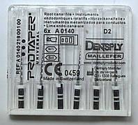 Протейперы маш. D2, уп.6шт, 19мм, А0140, (Protaper), Dentsply Maillefer