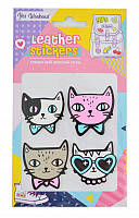 """Набор наклеек Leather stikers """"Cats"""""""