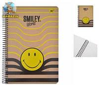 """Тетрадь В5/120 """"Smiley world"""" YES крафт"""