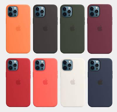 Чехлы Apple silicone (AAA)