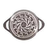 Набор кастрюль с крышками LEXICAL 20/24/28/32 антипригарное гранитное покрытие, набор посуды, 10 предметов, фото 6