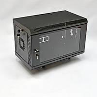 Шкаф 6U , 620х350х343 мм ( Ш * Г * В) , акриловое стекло , чёрный