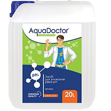 AquaDoctor pH Minus жидкий, серная кислота, 20 л
