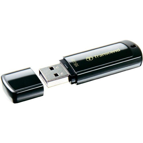 "Флешка USB 2.0 Transcend JetFlash 350 16Gb Black - Интернет-магазин ""У Игоря"" в Виннице"