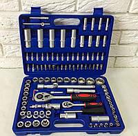 Набор инструментов, ключей, головок LEX - 108 шт / Польша / Набор инструментов для авто