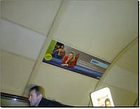 Реклама в метро на эскалаторах (ст.м.Дорогожичи)