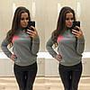 Теплы свитер с сердцем (разные цвета), фото 2