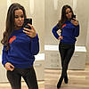 Теплы свитер с сердцем (разные цвета), фото 5
