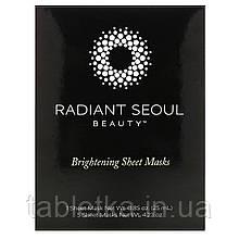 Radiant Seoul, освітлювальна тканинна маска, 5 шт. по 25 мл (0,85 унції)
