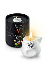 Масажна свічка Plaisirs Secrets Bubble Gum аромат жувальної гумки, 80мл