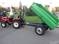 Прицеп-самосвал к трактору ПТС-1,5М (г/п 1,5 т, кузов 2х1,4 м)