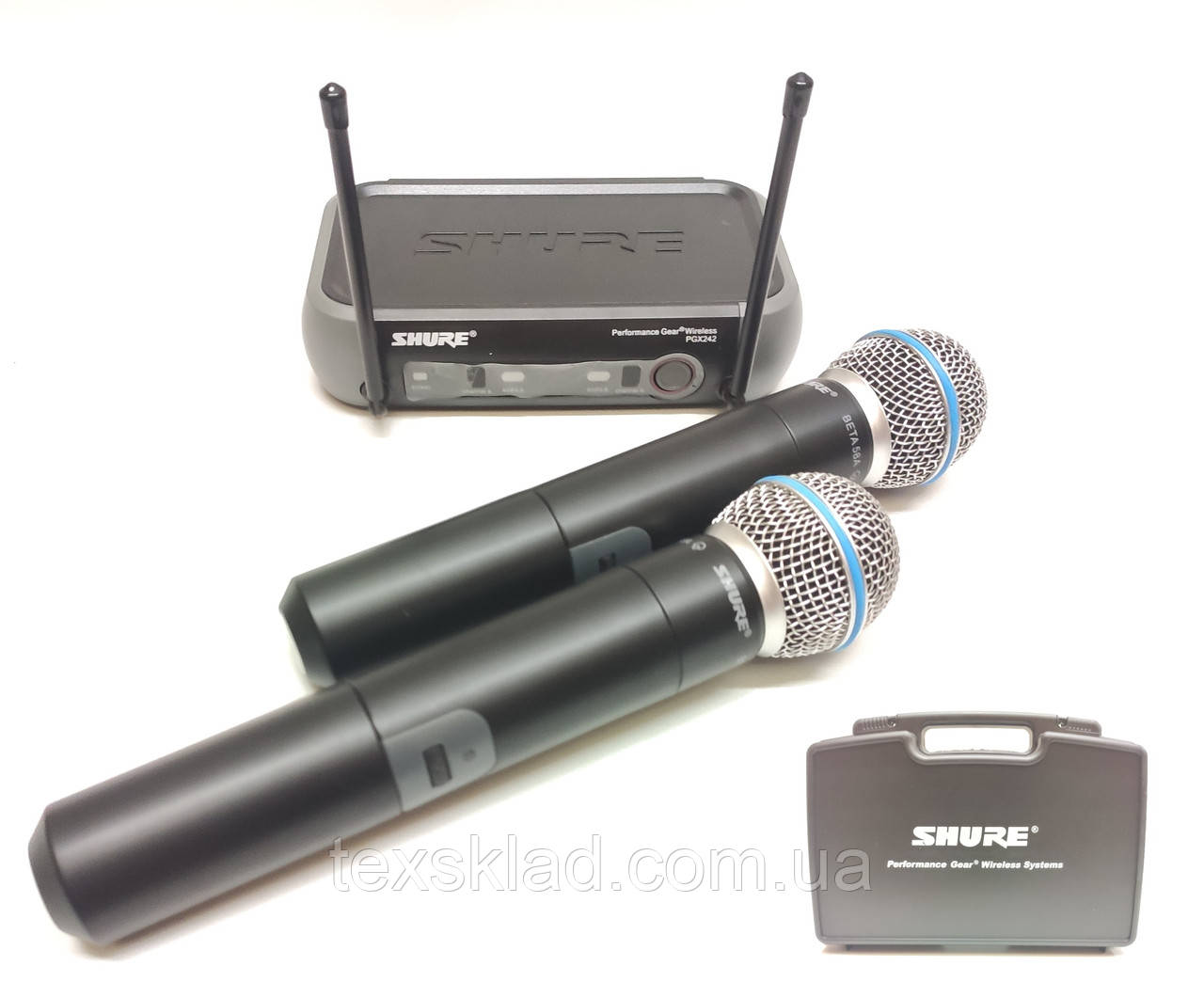 Радіомікрофони бездротові PGX242E / Beta58-J6