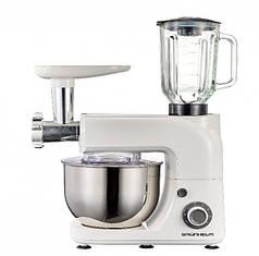 Кухонна машина Grunhelm GKM0020, 1800 Вт, 6 швидкостей