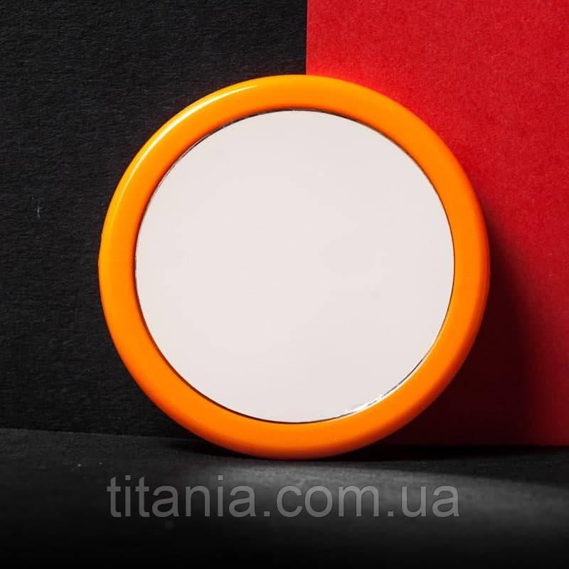 Зеркало круглое карманное маленькое разные цвета TITANIA art.1540L