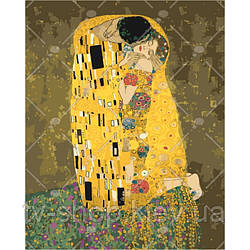 "Картина по номерам ""Поцелуй.Густав Климт ""  ,40х50 см"