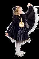 Ворона карнавальный новогодний костюм для девочки