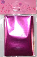 Фольга для литья , темно-розовая. 7*100 см.