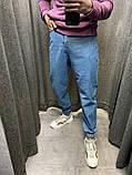 Джинсы-Джоггеры синие 20488, фото 2