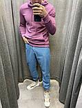 Джинсы-Джоггеры синие 20488, фото 3