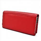 Жіночий шкіряний гаманець Weatro 1013-B149-2 Червоний, фото 3