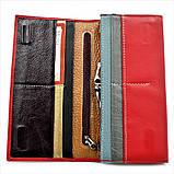 Жіночий шкіряний гаманець Weatro 1013-B149-2 Червоний, фото 4