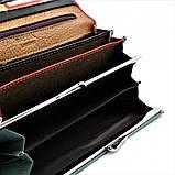 Жіночий шкіряний гаманець Weatro 1013-B149-2 Червоний, фото 5