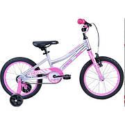 "Велосипед Apollo NEO 2021 girls розовый/белый 16"""
