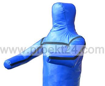 Манекен для борьбы, борцовский манекен 110см. (1 нога, руки вперед)