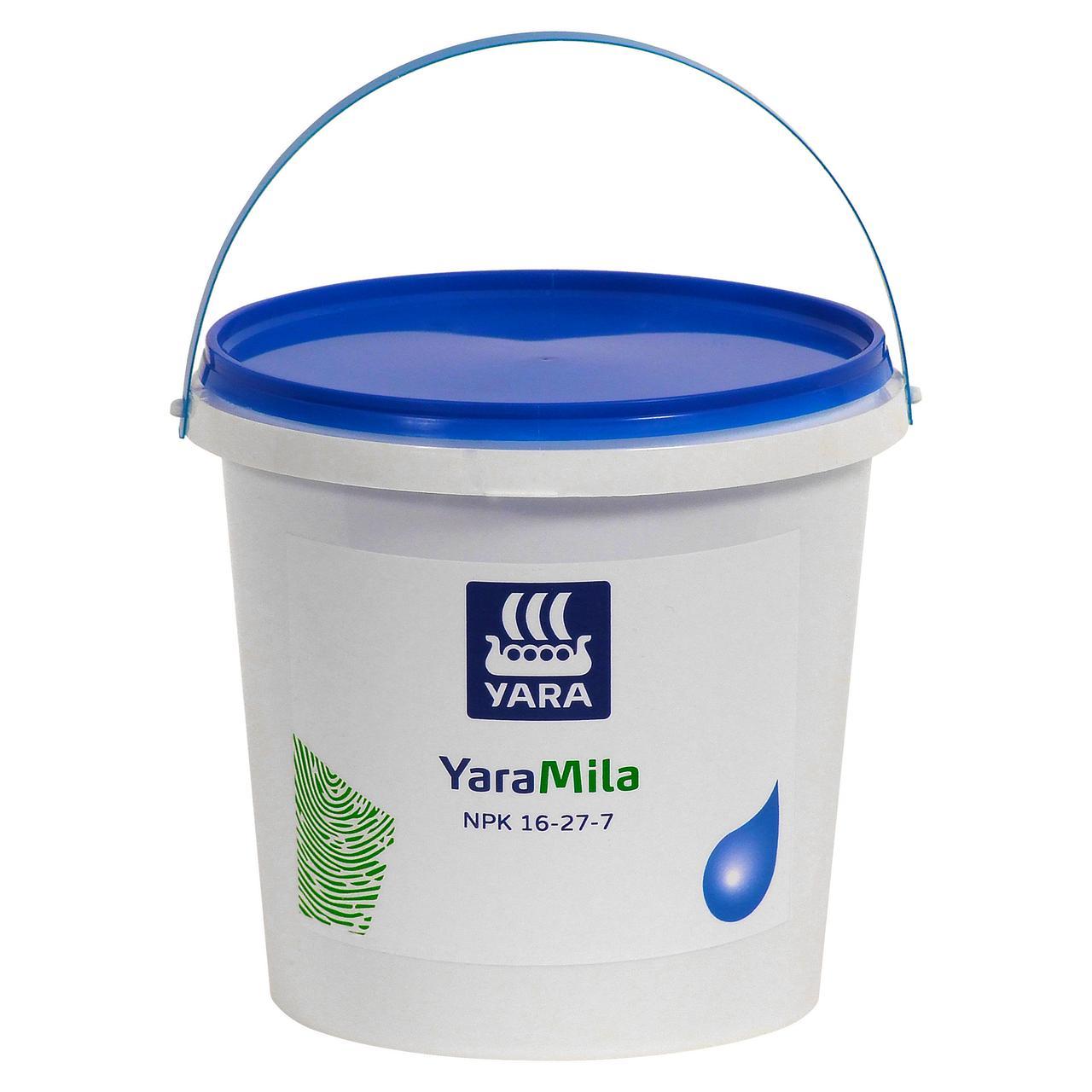 Комплексне весняне добриво для газону, для хвойних рослин, для квітів Яру, YaraMila NPK 16-27-7 (2,5 кг)