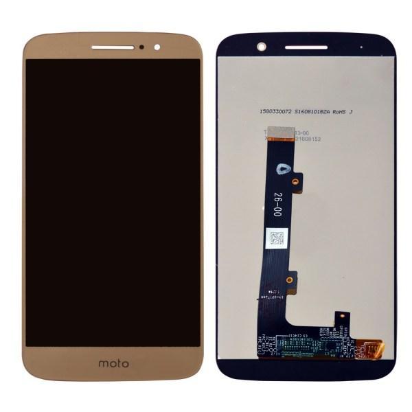 Дисплей для Motorola XT1662 Moto M | XT1663 з тачскріном, золотий