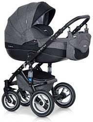 Детская коляска универсальная 2 в 1 Riko Brano 01 carbon (Рико Брано, Польша)