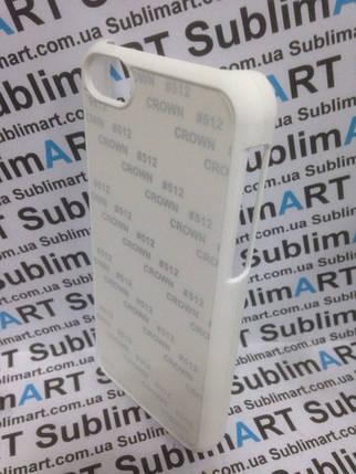 Чехол для 2D сублимации Iphone 5C Белый Soft-touch, фото 2
