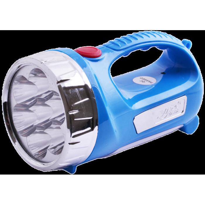 Ручной аккумуляторный фонарь YJ-2804, Синий